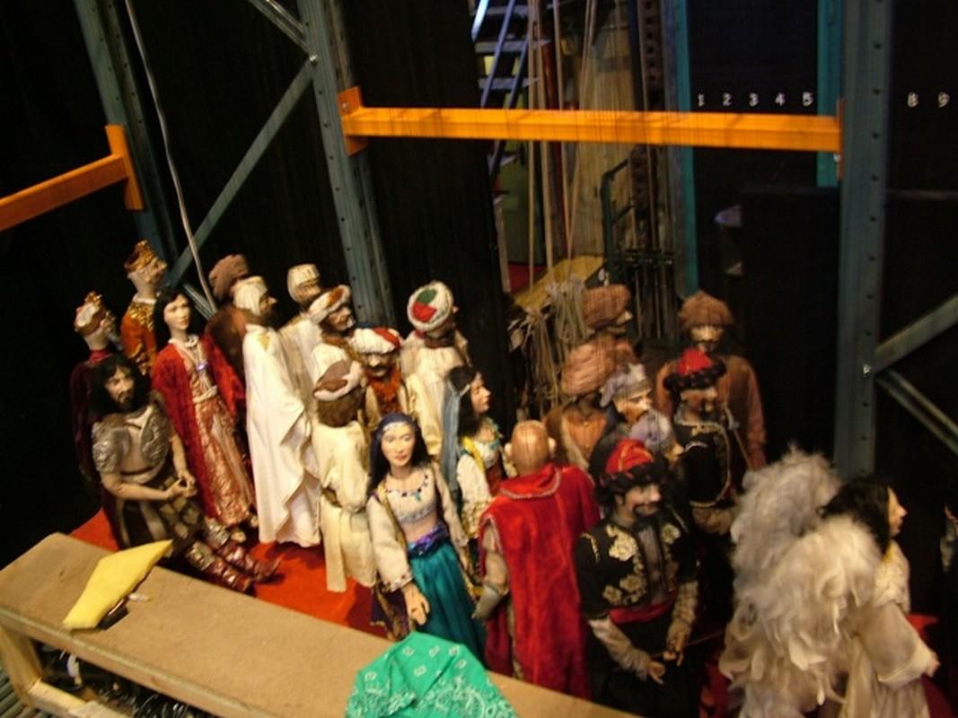 Le marionette Rostam Sohrab